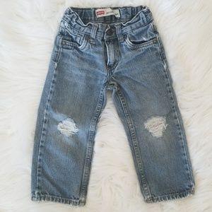 Levi's 549 Distressed Jeans w Adjustable Waist